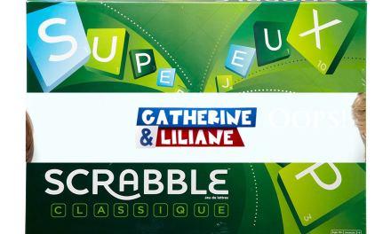 Catherine et Liliane: Le Scrabble ou l'ennui compte-triple.