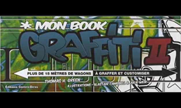 Vous avez une furieuse envie de graffer, de transformer les wagons du métro en oeuvres d'art vivantes et colorées? Alors, ouvrez vite ce Book Graffiti.