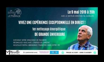 NETTOYAGE ÉNERGÉTIQUE SPÉCIAL ARGENT EN DIRECT! C'est le 9 mai! C'est en ligne!