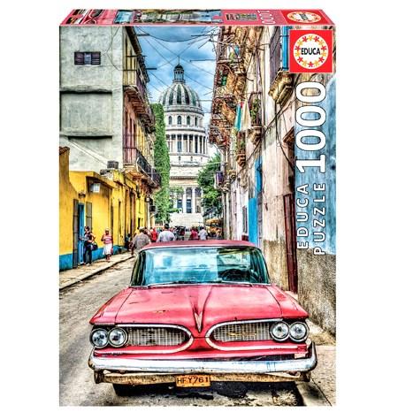 Puzzle 1000 Coche en la Habana