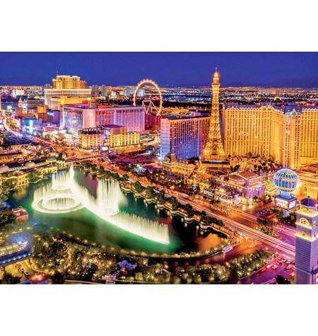 Puzzle 1000 – FLUORESCENTE – Las Vegas – Educa
