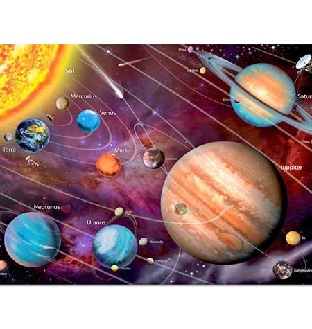 Puzzle 1000 – FLUORESCENTE – Sistema Solar – Educa