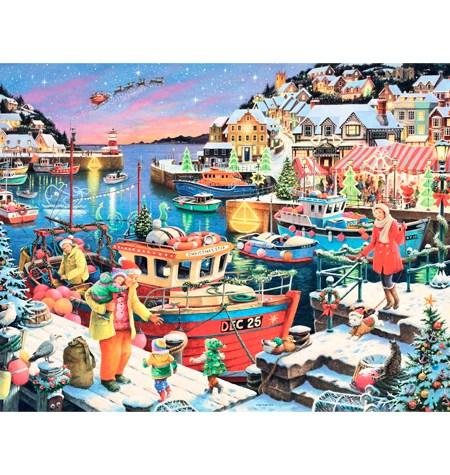 Puzzle 1000 Hogar Navideño – Ravensburger