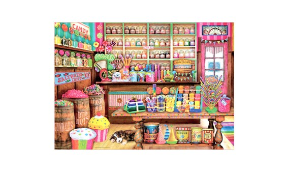 Puzzle 1000 Tienda de Dulces – Educa