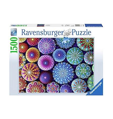 Puzzle 1500 Un Punto a la Vez – Mandalas – Ravensburger