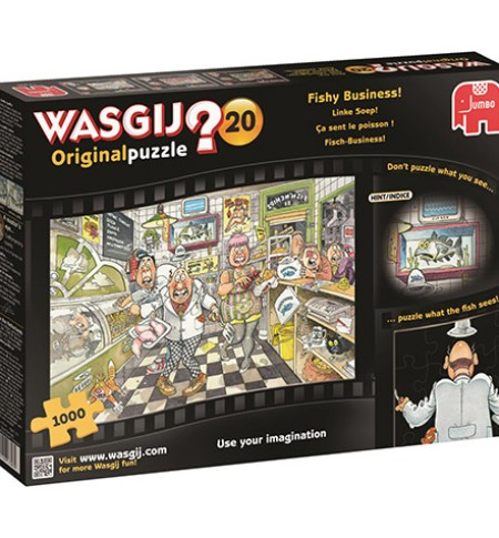 Puzzle 1000 WASGIJ ORIGINAL #20 – Fishy Business!