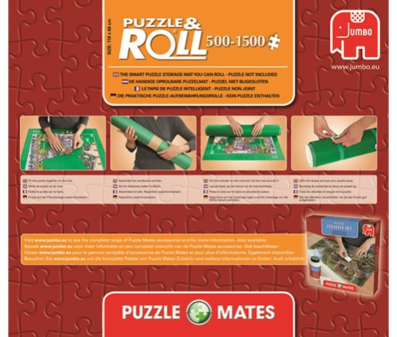 Parking puzzle 1500 – Tapete Guardapuzzles