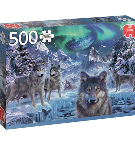 Puzzle 500 Winter Wolves