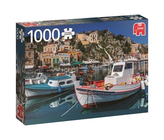 Puzzle 1000 Symi, Greece – Jumbo