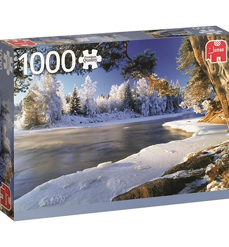 Puzzle 1000 Dal River, Sweden – Jumbo