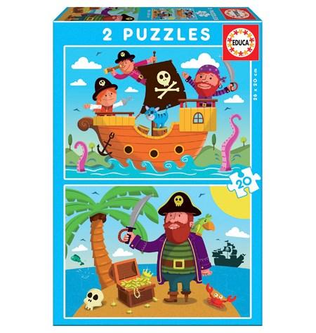 Puzzle 2×20 Piratas – Educa