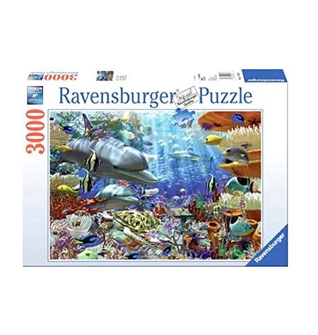 Puzzle 3000 Vida bajo el Agua – Ravensburger
