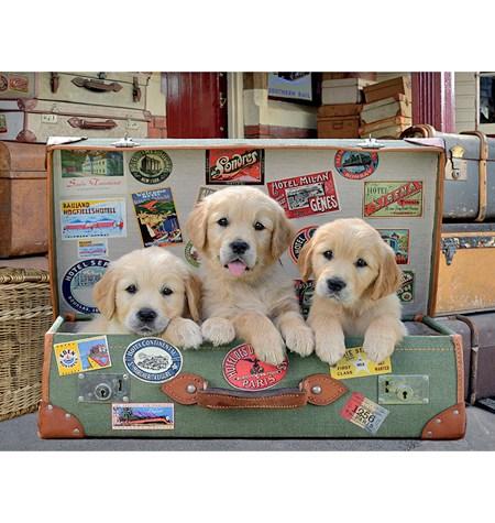 Puzzle 500 Cachorros en el Equipaje – Educa
