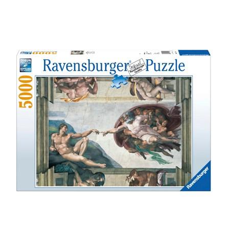Puzzle 5000 Creación de Adán – Ravensburger