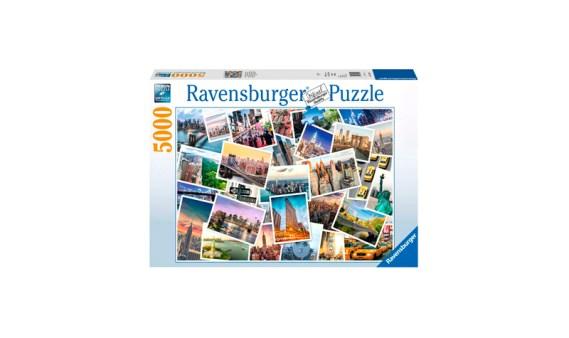 Puzzle 5000 Nueva York, la ciudad que nunca duerme – Ravensburger
