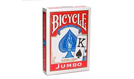Baraja Poker Bicycle Jumbo