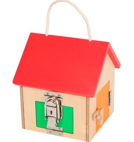 Casa con Cerraduras Pequeña