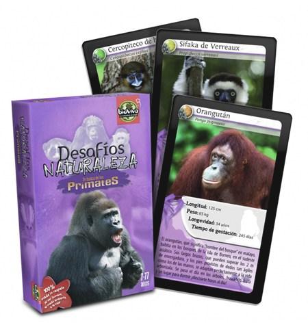 Desafíos Naturaleza Primates