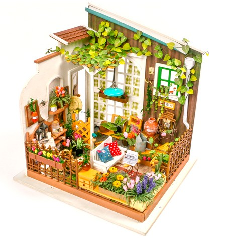 Miniature House DIY – Miller´s Garden