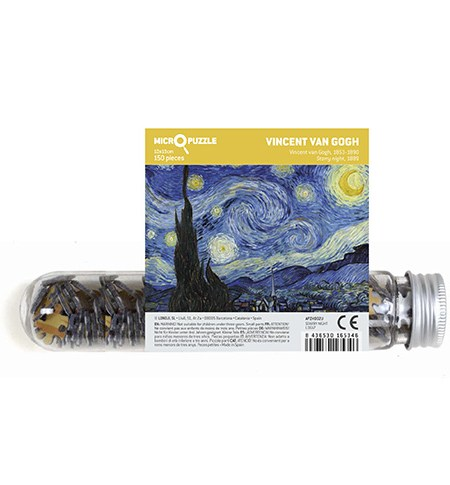 Puzzle 150 MINI – Tubo – Noche Estrellada, Van Gogh
