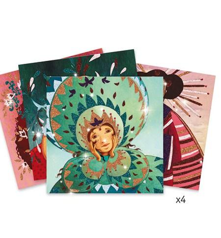Pintar con Purpurina – Jóvenes Oro y Seda