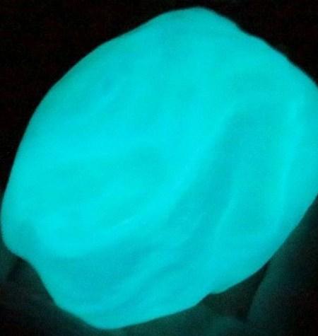 Plastilina Inteligente FLÚOR Aurora Boreal