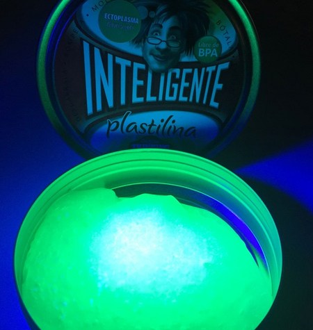 Plastilina Inteligente FLÚOR Ectoplasma