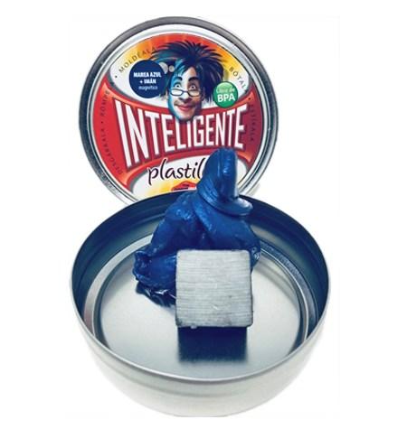 Plastilina Inteligente MAGNÉTICA Marea Azul+Imán