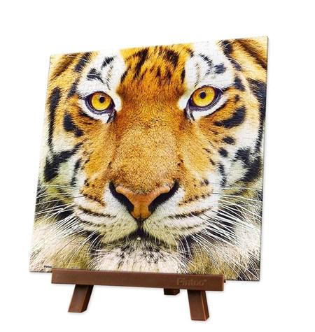 Puzzle 256 MINI – Piezas de Plástico – Close up of Tiger – Pintoo