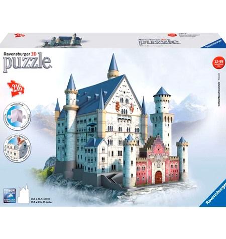 Puzzle 3D – 216  Neuschwanstein, Alemania – Ravensburger