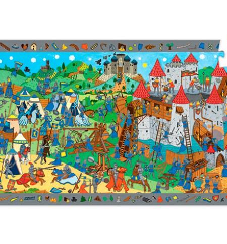 Puzzle y Juego 54 Caballeros – Djeco