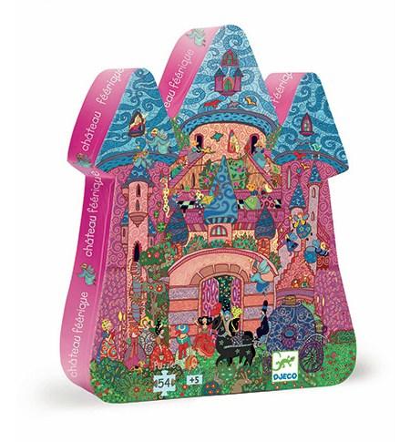 Puzzle 54 SILUETA Castillo Mágico – Djeco
