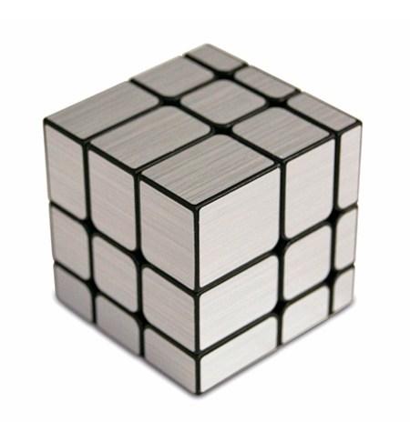 Cubo de Rubik Magic Cube – Mirror Plata