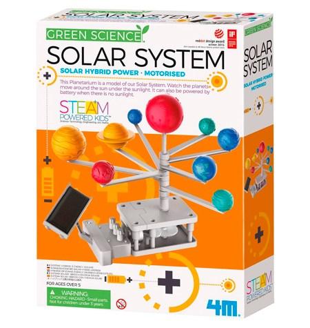 Sistema Solar con Motor Híbrido