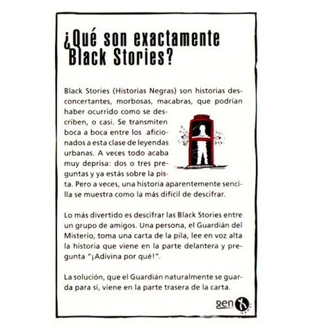 Black Stories – Crímenes Reales