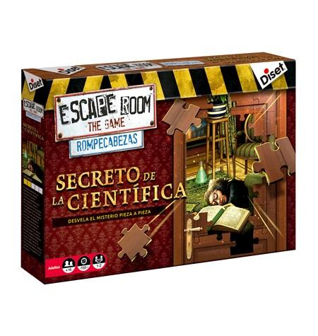 Escape Room The Game Rompecabezas – El Secreto de la Científica