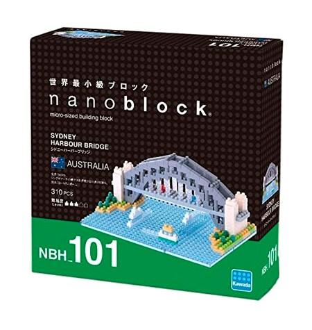 Nanoblock – Sidney, Puente de Harbour