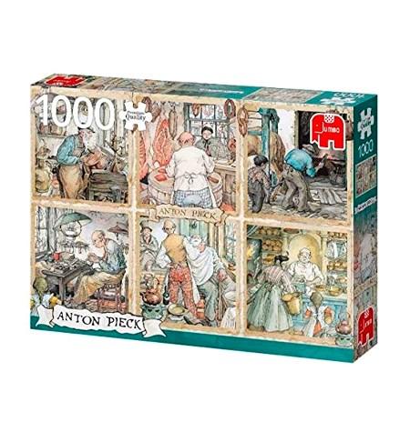 Puzzle 1000 ANTON PIECK – Los artesanos – Jumbo