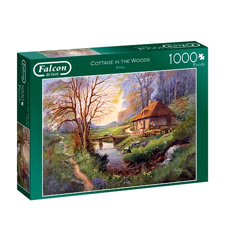 Puzzle 1000 Cottage in the Woods – Falcon
