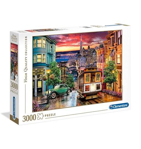 Puzzle 3000 San Francisco – Clementoni
