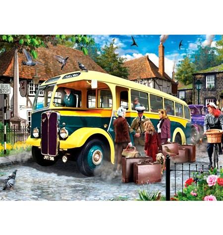 Puzzle 500 Catchig the Bus – Falcon