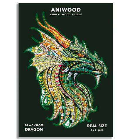 Puzzle 125 Madera MD – Dragón – Aniwood