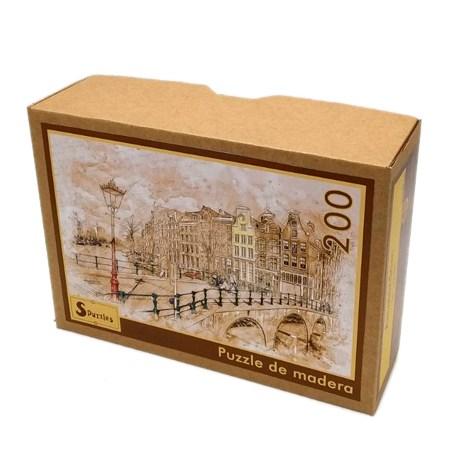 Puzzle 200 Madera – Ámsterdam – SPuzzles