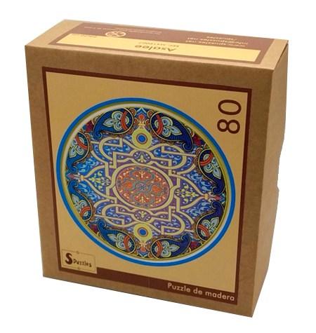 Puzzle 80 Madera – MANDALA Asalee – SPuzzles