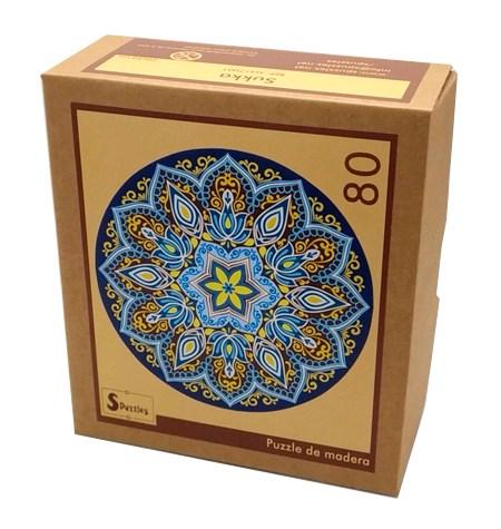 Puzzle 80 Madera – MANDALA Sukka – Spuzzles