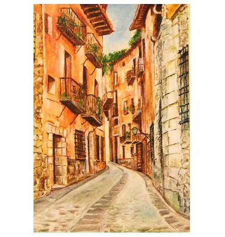 Puzzle 80 Madera – Calle Empedrada