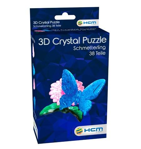 Rompecabezas Puzzle 3D Metacrilato PQ – Mariposa y Flor