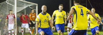 Warrington Town win in FA Cup first round