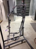 Chrome base powder coat