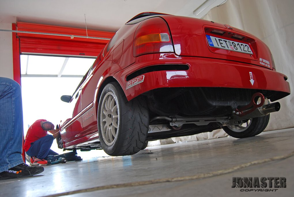 bil civic ek 19